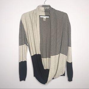 Max Studio long sleeve cardigan sweater 294